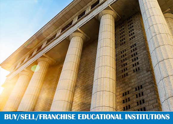 BUY/ SELL /FRANCHISE EDUCATIONAL INSTITUTIONS